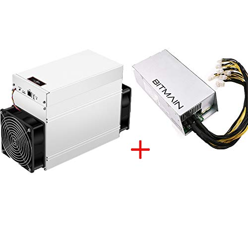 Antminer S9 SE 17T Bitcoin Miner 1360W ASIC Miner Include APW7 1800W PSU and Power Cords Bitccoin Mining