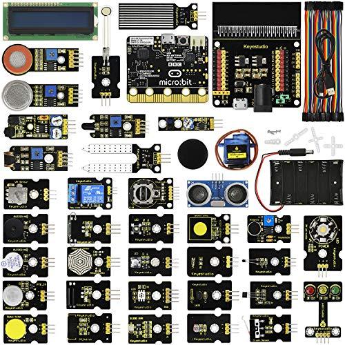 keyestudio 37 in 1 Starter Kit with BBC Micro:bit Controller Board