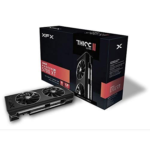 XFX Rx 5700 XT Thicc II Ultra 8GB GDDR6 1980MHz 3xDP HDMI PCI Express 4.0 Graphics Card Rx-57XT8DBD6