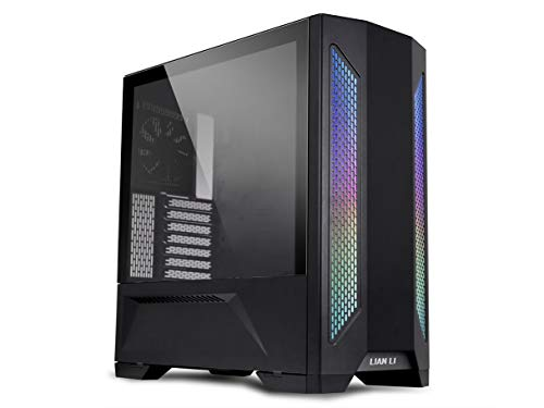 LIAN LI LANCOOL 2 Black Tempered Glass ATX Case -Black Color -LANCOOL II -X