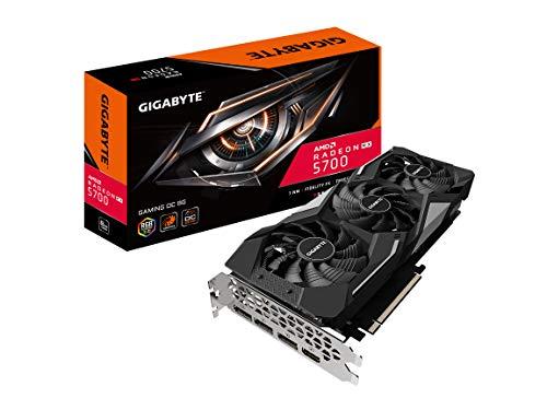 Gigabyte Radeon Rx 5700 Gaming OC 8G Graphics Card, PCIe 4.0, 8GB 256-Bit GDDR6, Gv-R57GAMING OC-8GD Video Card