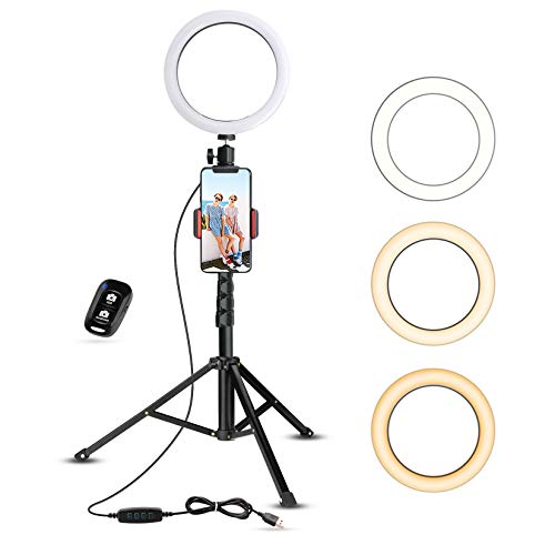 Top 10 Selfie Light Ring for iPhone – Cell Phone External Flashes & Selfie Lights