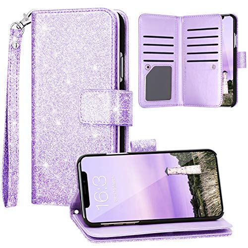 Top 10 Purple iPhone 11 Case Wallet – Flip Cell Phone Cases