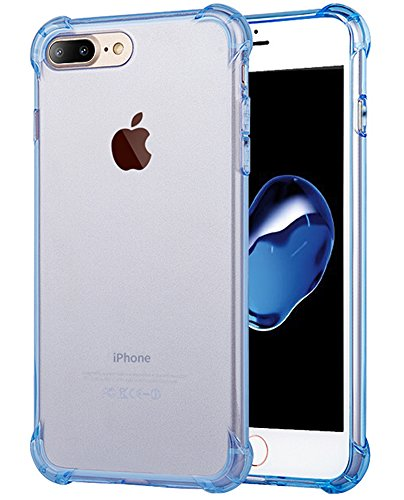 Top 10 iPhone 8 Plus Case Clear Blue – Cell Phone Basic Cases