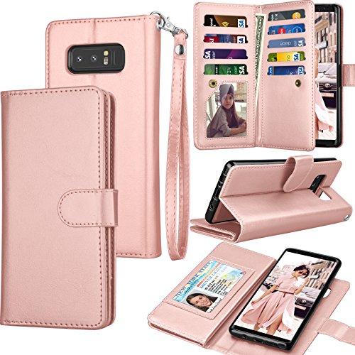 Top 9 Note 8 Case Wallet Case Women – Flip Cell Phone Cases