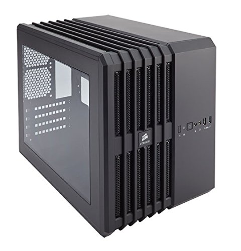Black – Corsair Carbide Series Air 240 High Airflow MicroATX and Mini-ITX PC Case