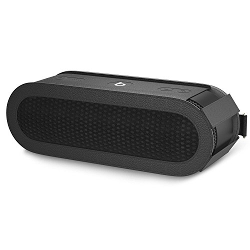 af61a1f32af MoKo Carrying Case for Beats Pill+, Premium Vegan PU Leather Protective  Cover Bag Sleeve Skins for Dr. Dre Beats Pill+ Portable Bluetooth Speaker,  ...
