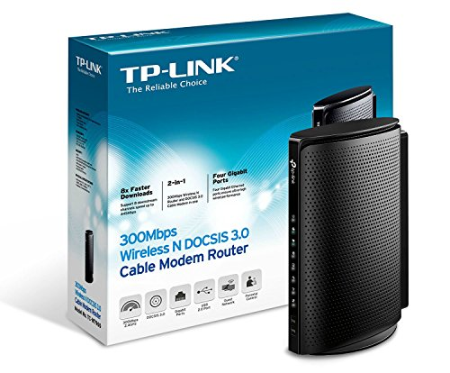 TP-Link DOCSIS 3 0 8×4 Cable Modem TC-7610-E Certified for