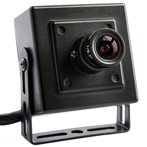 ELP 1080P Megapixel Industrial Mini IP Camera,Mini Pinhole