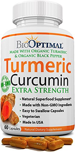 50 Veg Capsules – 100% Pure Turmeric Extract 1500mg with 95
