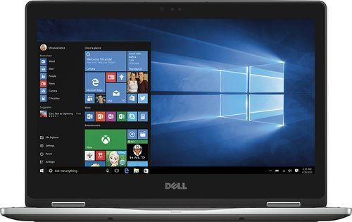 8GB Memory – DELL Flagship Inspiron 2-in-1 13.3″ Touch-Screen Laptop – Gray – 256GB Solid State Drive – Intel Core i5 -7200U