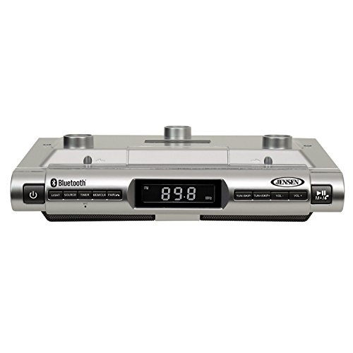 Jensen SMPS-628 Under Cabinet Universal Bluetooth Music