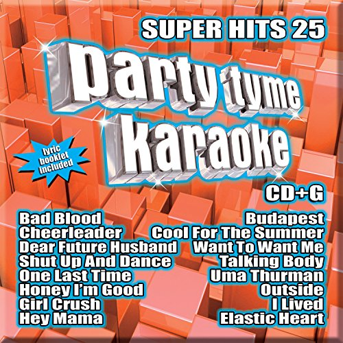 Super Hits 26 16-song CD+G – Party Tyme Karaoke