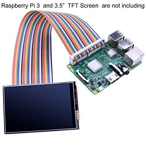 For Raspberry Pi 3 2 TFT LCD Display, kuman 3 5 Inch 480×320 TFT