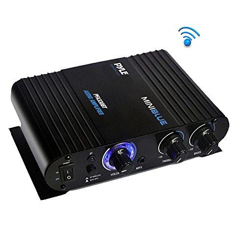 F900 100W Mini Bluetooth Amplifier Blue Digital Audio 50W+