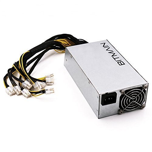 Power Supply for Bitmain AntMiner L3+ S9 T9 D3APW3++-12-1600W-A3//10