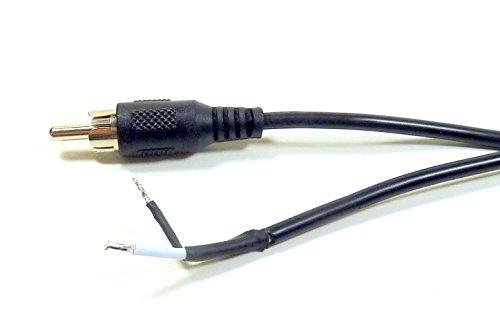 Cerrxian Speaker Phono Rca Male To 2 Screw Terminal Strip