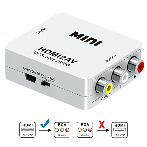 Hdmi To Rca Cable Hdmi To Rca Converter Adapter Best Buy