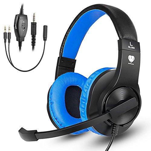 Soft Breathing Wired Over-Ear Game Headphones – USB LED – NEW 2018