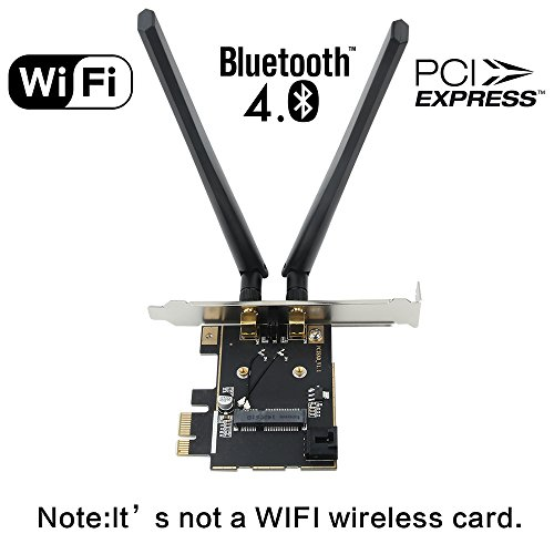 Fenvi Wireless Network mini PCI-E Card to Desktop PCI-E