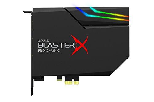 Sound BlasterX G6 Hi-Res 130dB 32bit/384kHz Gaming DAC, External USB