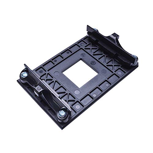 Aimixin AM4 CPU Heatsink Bracket,Socket Retention Mounting Bracket for Hook-Type Air-Cooled or Partially Water-Cooled Radiators, AMD CPU Fan Bracket Base for AM4 B350 X370 A320 Black