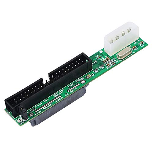 SinLoon SATA Female to 40 pin Male 3.5 inch IDE Adapter for PC and Mac Computer to SATA Hard Drive Interface AdapterSATA F/3.5 M