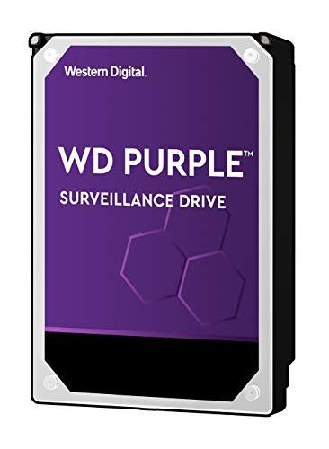 WD Purple 6TB Surveillance Hard Drive – WD60PURZ – 5400 RPM Class, SATA 6 Gb/s, 64 MB Cache, 3.5″