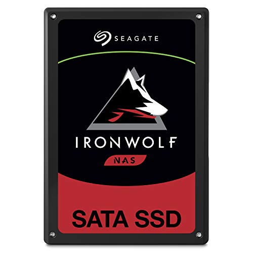 2.5 inch SATA for Multibay RAID System Network Attached Storage, 2 Year Data Recovery ZA480NM10001 – Seagate IronWolf 110 480GB NAS SSD Internal Solid State Drive