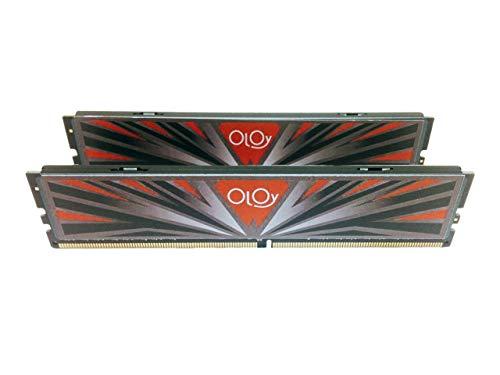 OLOy Memory DDR4 RAM 16GB 2x8GB 3000 MHz CL16 1.35V 288-Pin Desktop Gaming UDIMM MD4U083016BBDA