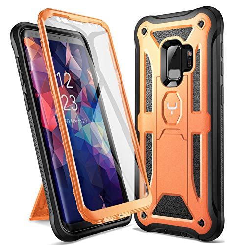 Top 9 Samsung Galaxy S9 Case with Built In Screen Protector And Kickstand – Cell Phone Basic Cases